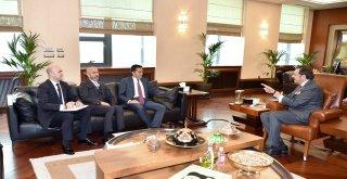 TİSK Başkanı Akkol'dan Hisarcıklıoğlu'na ziyaret