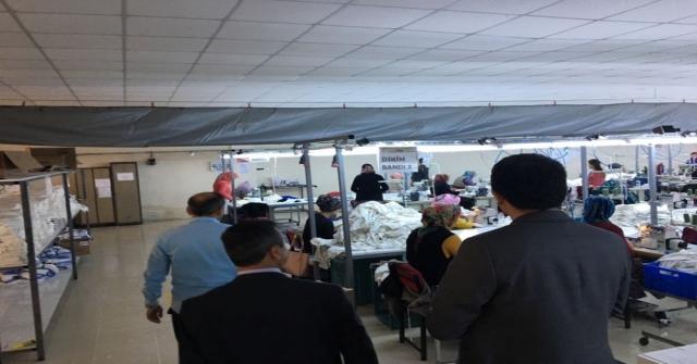 Repa Tekstil'e teşekkür ziyareti