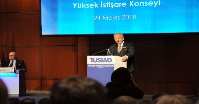 """Tüsiad Başkanı Bilecik: """"Merkez Bankasının Faiz Adımı Bir Nebze Olsun Rahatlık Sağladı"""""""