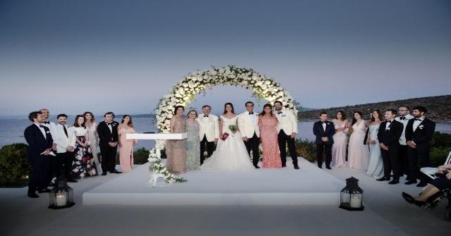 Esra Eczacıbaşı ve Murat Coşkun Bodrum'da evlendi