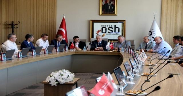 Kayseri OSB'ye fuar merkezi