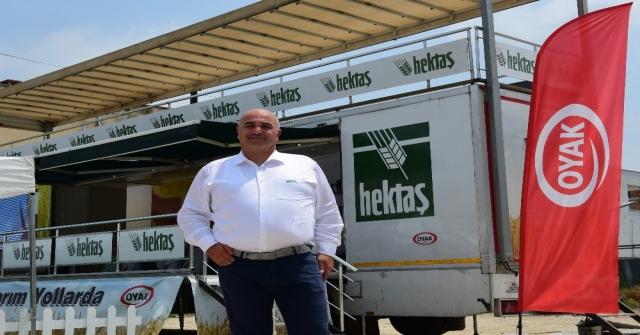 Hektaşın Akıllı Tarım Tırı Adanada Çukurovalı Çiftçilerle Buluştu