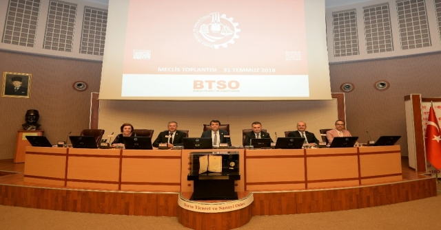 Btso Temmuz Ayı Meclis Toplantısı