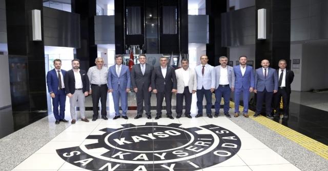 Akib Mobilya İhracatçıları Birliğinden Kaysoya Ziyaret