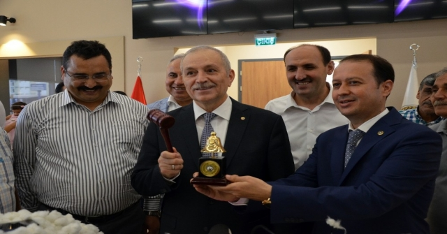 Adanada İlk Kütlü Pamuk Elektronik Borsada Alıcısını Buldu