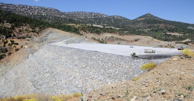 Sorgun Barajının Yapımı Sürüyor