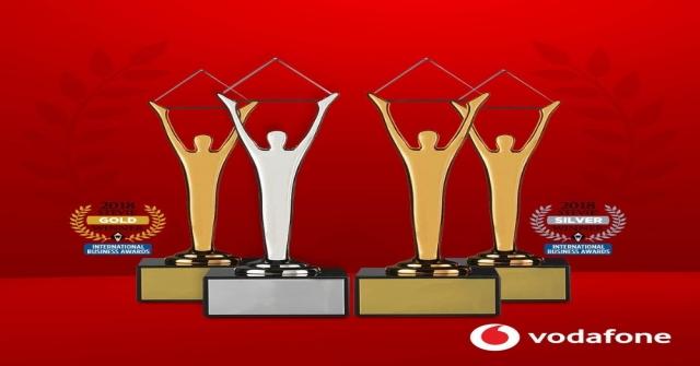 Vodafone Türkiyeye 4 Stevie Ödülü Birden
