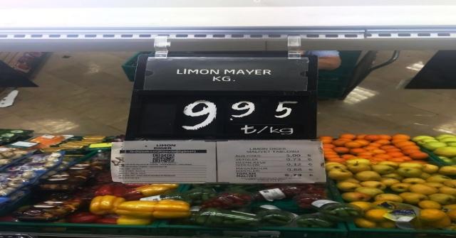 Limon Fiyatları Aldı Başını Gidiyor