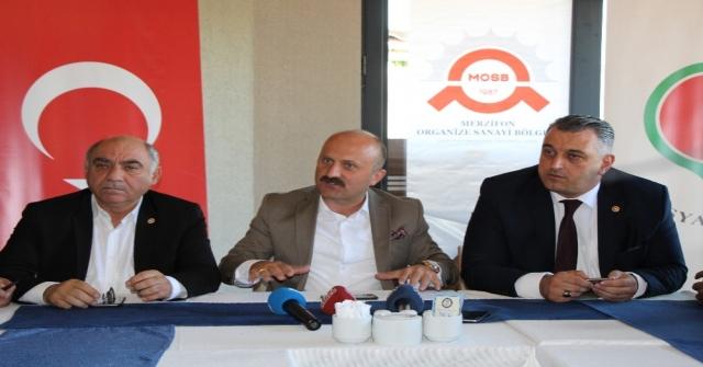 Amasya'ya 10 yeni fabrika