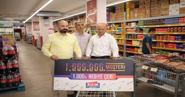 1 milyonuncu müşteri Midyat'tan