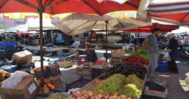 Afyonkarahisarda Meyve Sebze Fiyatlarında Yüzler Gülüyor