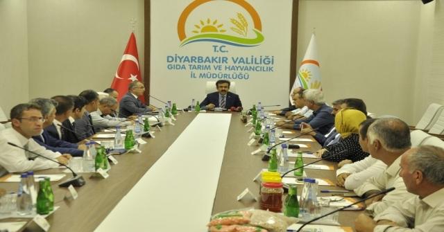 Diyarbakırda 7,3 Milyar Lira Değerinde Üretim Gerçekleşti