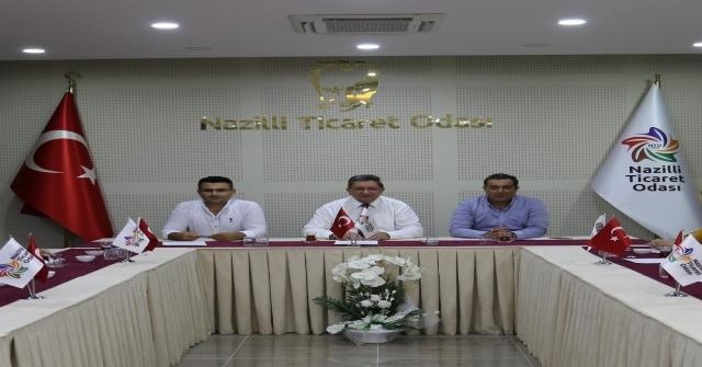 Nazilli Ticaret Odası İstişare Kurulu İkinci Toplantısını Gerçekleştirdi