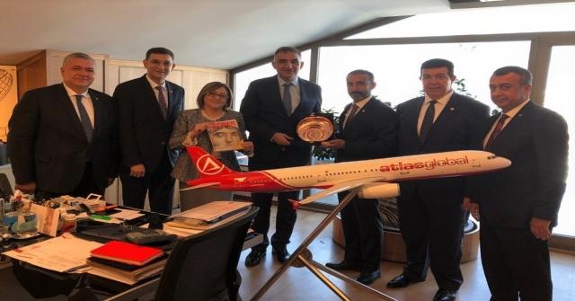 Gaziantepe İki Ayrı Uçak Firmasından Çifte Müjde
