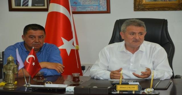 Ayesob Başkanı Çetindoğan Kuşadasında Ziyaretlerde Bulundu