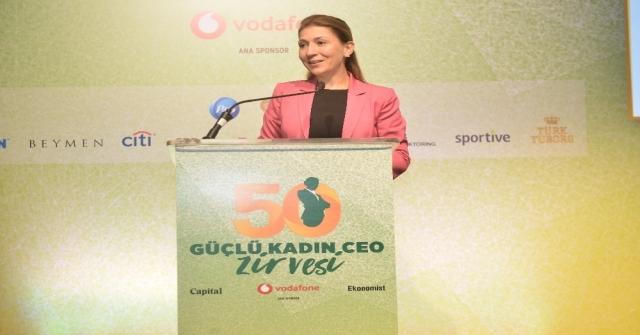 Türkiyenin En Güçlü 50 Kadın Ceosu Ödüllerini Aldı