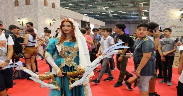 Binlerce Genç Oyun Fuarında Eğlenceli Dakikalar Yaşadı