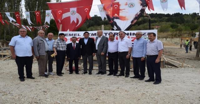 Pazarlar Sanayi Sitesinin Temeli Atıldı