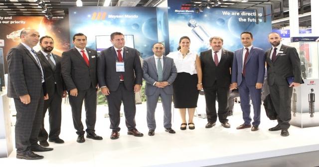 Automechanikada Türk Firmaları Kalite Şovu Yaptı