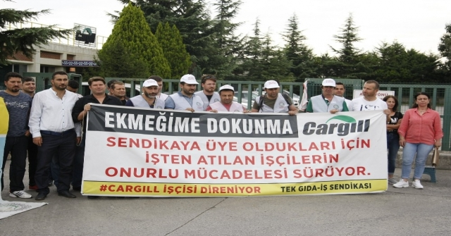Cargill İşçileri Yürüyüş Yaptı