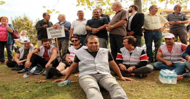 Yollara Düşen Cargill İşçileri Yalovaya Ulaştı