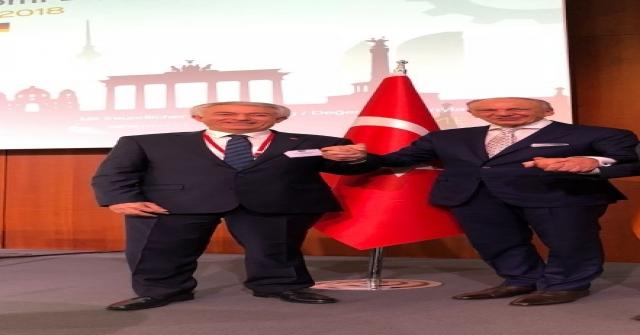 ITSO Başkanı Başdeğirmen, TOBB Başkanı Hisarcıklıoğlu İle Türkiye - Almanya Diyaloğu Toplantısına Katıldı