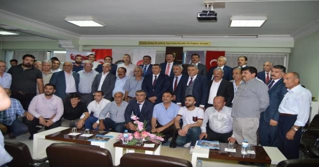 Tesk, Tobb Ve Türk-İş Başkanlarından Mesoba Ziyaret