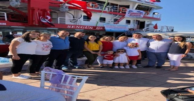 Ayvalıkın Yeni Ekmek Teknesi 'Vira Bismillah Dedi
