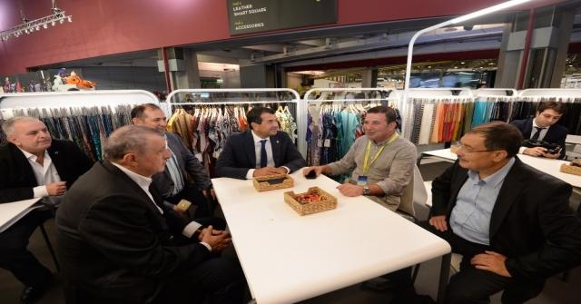 Btso Üyeleri Tekstilin Devler Arenasında