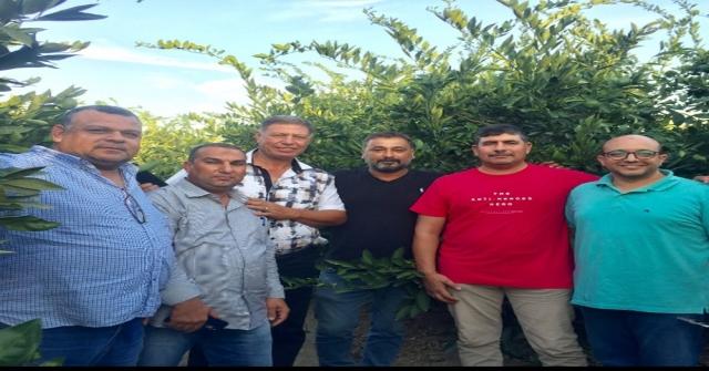 Mısırdan Gelen Tarım Üreticileri Selçukta Ağırlandı