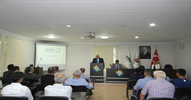 Ayso Eylül Ayı Meclis Toplantısı Gerçekleştirildi