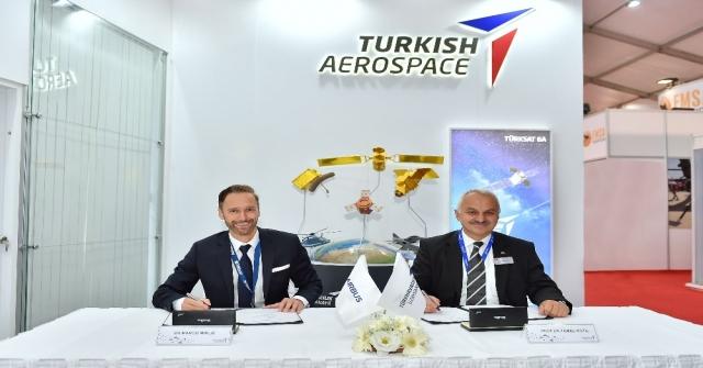 Türk Havacılık Ve Uzay Sanayii İle Airbustan Yeni Uçak Yapıları İçin Anlaşma