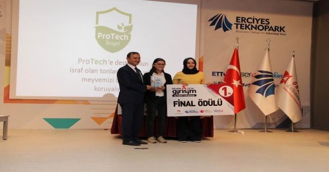 'Benim İşim Girişim Yarışmasının Ödül Töreni Yapıldı