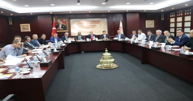 Bölgesel Kalkınmada Güç Birliği Platformu Gaziantepte Toplandı
