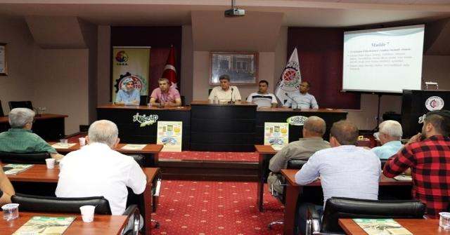 Zeytinyağı Sektörü Nizip Ticaret Odasında Toplandı