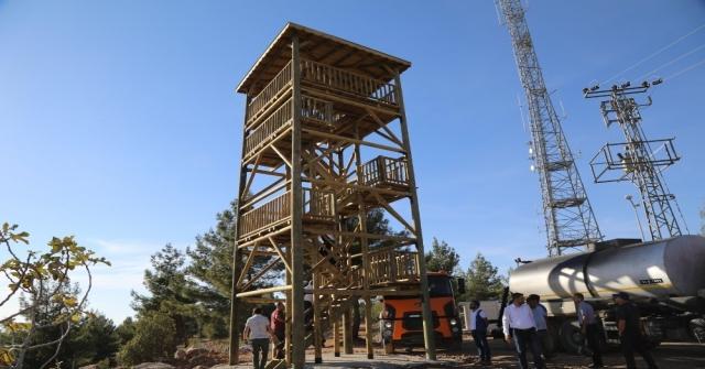 Resul Osman Dağı Mesire Alanında Çalışmalar Sürüyor
