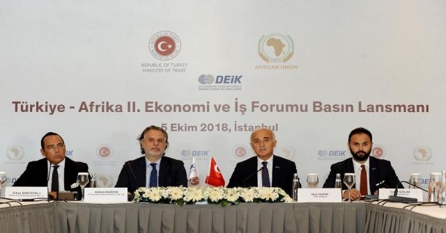 Afrika İle Ticaret İlişkileri Ve İş Birlikleri Güçlenecek