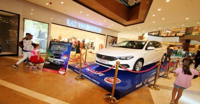 150 Tllik Alışverişe Otomobil Kazanma Fırsatı