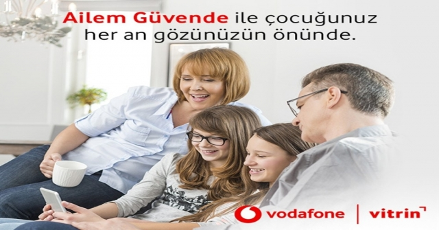Vodafonedan Yeni Uygulama: Ailem Güvende