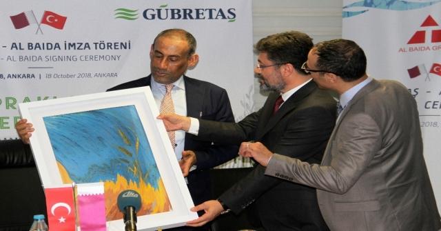 Gübretaştan Katara 10 Milyon Dolarlık İhracat Hedefi