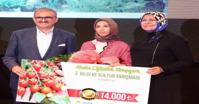 122 Kadın Çiftçiyi Geçip 14 Bin Tlnin Sahibi Oldu