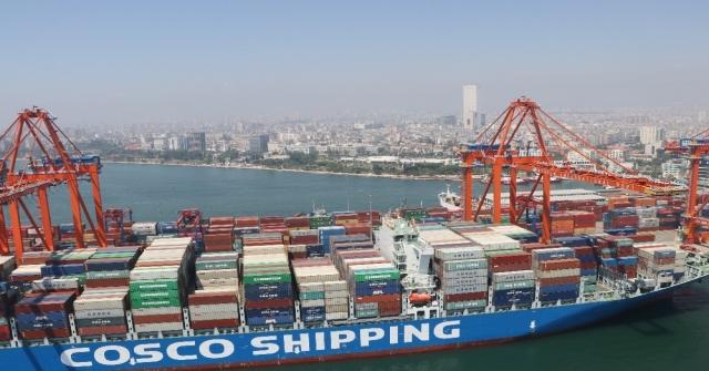 Mersin Limanında Yük Trafiği 20,2 Milyon Tona Yükseldi