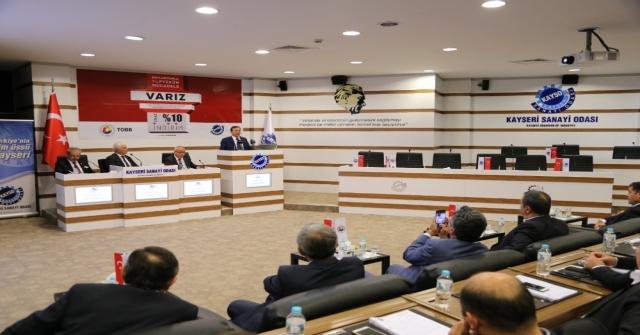 Kayso Başkanı Büyüksimitci, Hedefimiz İhracatta İlk 10A Girmek
