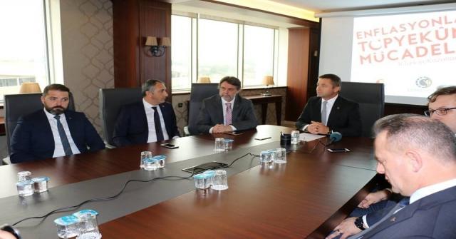 Kozuva: İktisadi Mücadelede En Ön Cephede Yer Alacağız