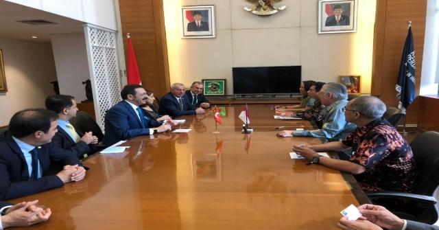 Ttb Başkanı Ergan, Endonezyada Fındığı Anlattı