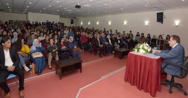 Ttso Başkanı Hacısalihoğlu Zoru Nasıl Başardığını Üniversite Öğrencilerine Anlattı