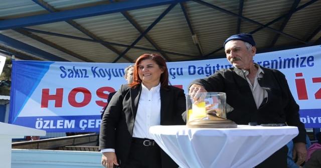 Aydın Büyükşehir Belediyesi 70 Aileye Sakız Koyunu Hibe Etti