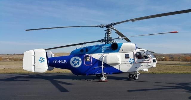 Rus Helikopterleri Türkiyede İlk Kez Türk Bayraklı Ve Türk Tescili İle Uçacak