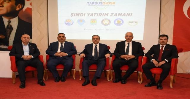 Tarsus Gıda İhtisas Organize Sanayi Bölgesi Tanıtıldı