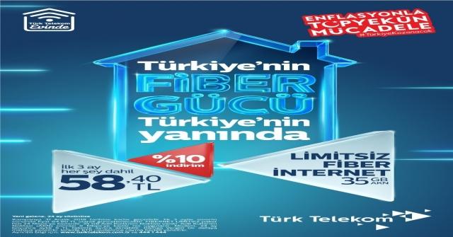 Türk Telekomun, Enflasyonla Mücadeleye Desteği Artıyor